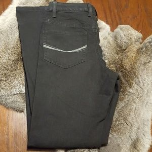 Jeans, black, stretch, Size 6
